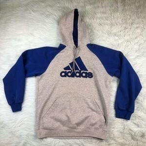 Adidas Men's Hoodie Sweatshirt Size Medium Blue M